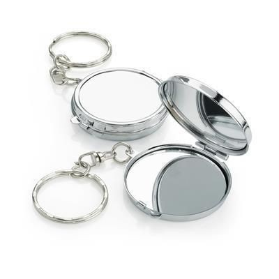 Picture of SILVER CHROME MIRROR KEYRING