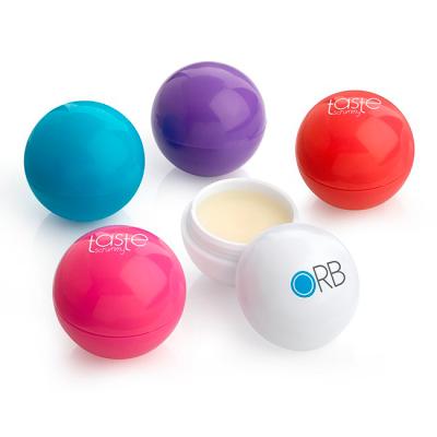 Picture of PURPLE BALL SHAPE LIP BALM