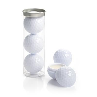 Picture of SET OF 3 GOLF BALL LIP BALMS in a Tube