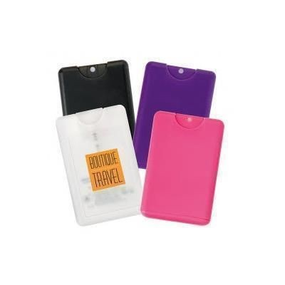 Picture of CREDIT CARD WATERLESS HAND SANITISER in Pink