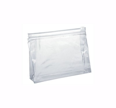 Picture of CLEAR TRANSPARENT SLIDE ZIPPER EVA BAG