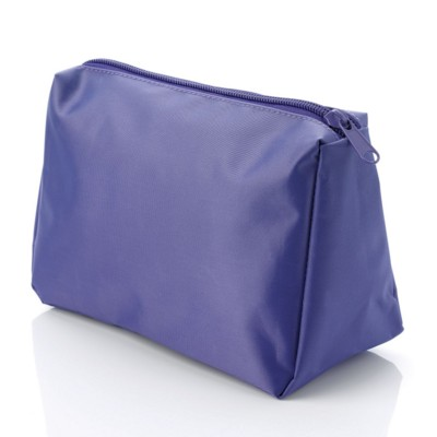 Picture of NYLON TOILETRY WASH BAG in Purple