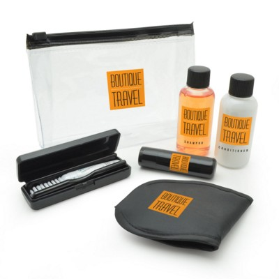 Picture of TRAVEL SET PERSONAL CARE KIT in Black
