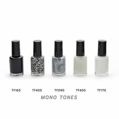Picture of BLACK OR WHITE NAIL POLISH in a Bottle, 10Ml