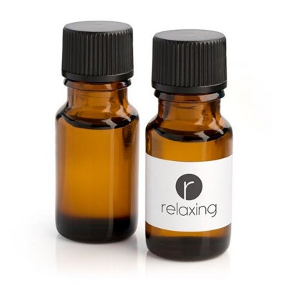 Picture of BOTTLE OF RELAXING OIL in Brown Bottle