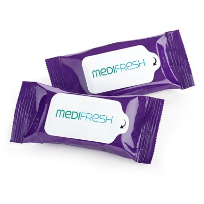 Picture of 10 STANDARD WET WIPE TISSUE PACK in a Soft Pack
