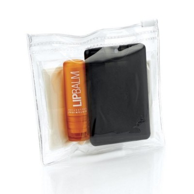 Picture of POCKET MINI OFFICE SURVIVAL KIT in Waterproof Zip Bag