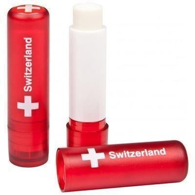 Picture of LIP BALM STICK with Domed Label in Red