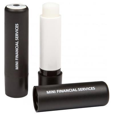 Picture of LIP BALM STICK with Domed Label in Black