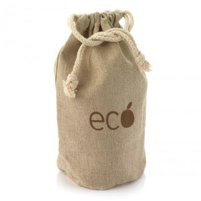 Picture of HEMP DRAWSTRING BAG in Natural Hemp Material