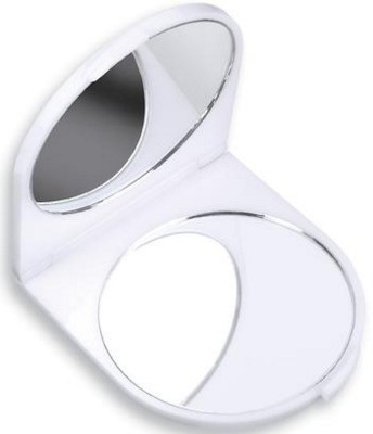 Picture of DOUBLE COSMETICS COMPACT MIRROR in White