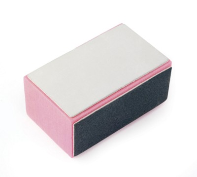 Picture of 4 WAY FOAM NAIL BUFFER CUBE BLOCK in Pink