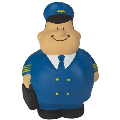 AIRLINE PILOT BERT SQUEEZIES STRESS ITEM