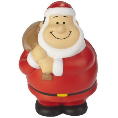 FATHER CHRISTMAS SANTA BERT SQUEEZIES STRESS ITEM