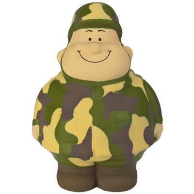 SOLDIER BERT SQUEEZIES STRESS ITEM