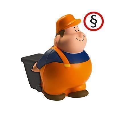 Picture of DUSTMAN GARBAGE COLLECTOR BERT SQUEEZIES STRESS ITEM
