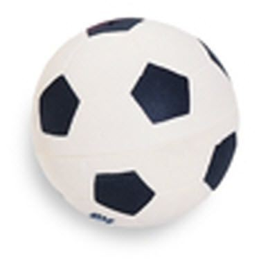 FOOTBALL SQUEEZIES STRESS ITEM in Black & White