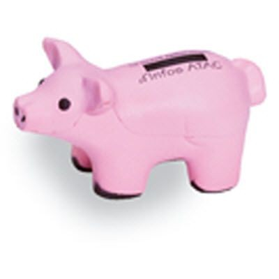PIG SQUEEZIES STRESS ITEM in Pink