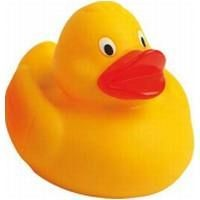 Picture of RACING RUBBER DUCK in Yellow