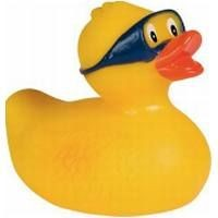Picture of DIVER RUBBER DUCK in Yellow