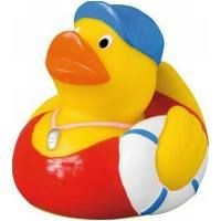 Picture of SWIMMING COACH RUBBER DUCK in Yellow