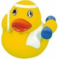 Picture of FITNESS RUBBER DUCK in Yellow