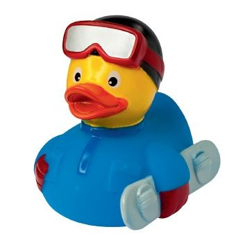 Picture of SNOWBOARD DUCK
