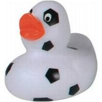 Picture of SPOTTED RUBBER DUCK in White & Black