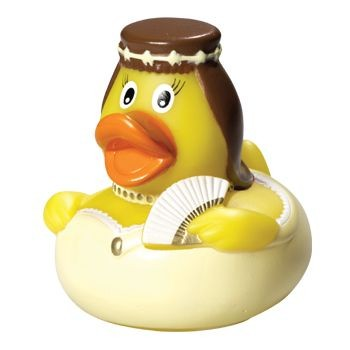 Picture of SISSI SQUEAKING RUBBER DUCK