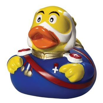 Picture of FRANZ JOSEF SQUEAKING RUBBER DUCK
