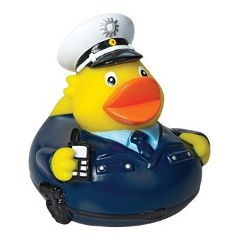 Picture of POLICEMAN SQUEAKING RUBBER DUCK