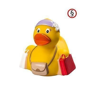 Picture of SHOPPING RUBBER DUCK