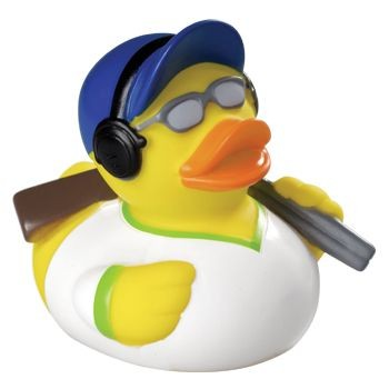 Picture of CLAY PIGEON SQUEAKING RUBBER DUCK