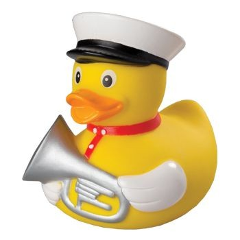 Picture of TRUMPETER SQUEAKING RUBBER DUCK