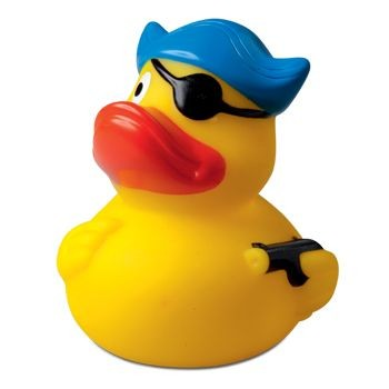 Picture of PIRATE with Hat & Eye Patch Duck