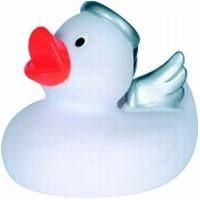 Picture of ANGEL RUBBER DUCK SMALL in White