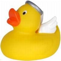 Picture of ANGEL RUBBER DUCK SMALL in Yellow
