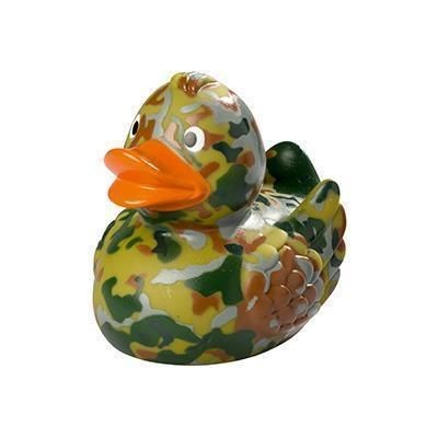 Picture of ARMY CAMOUFLAGE RUBBER DUCK