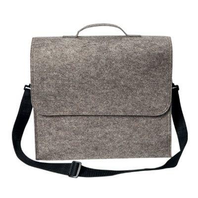 Picture of FELT SHOULDER BAG in Grey