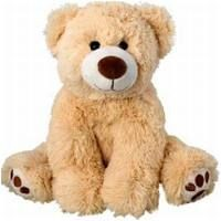 Picture of RALLE SMALL TEDDY BEAR in Light Brown