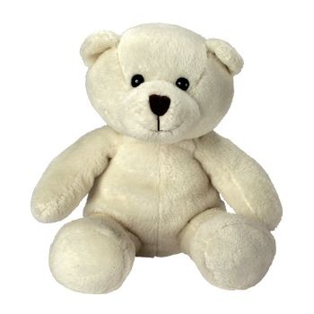 Picture of IDA DRESS UP TEDDY in White