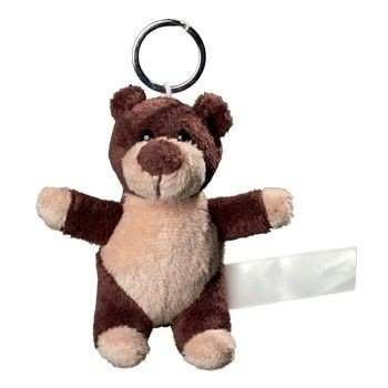 Picture of BEAR PLUSH KEYRING