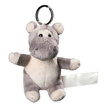 Picture of HIPPO PLUSH KEYRING