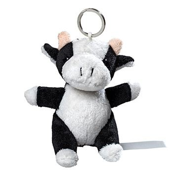 Picture of COW PLUSH KEYRING