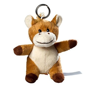 Picture of HORSE PLUSH KEYRING