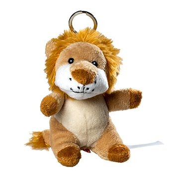 Picture of LION PLUSH KEYRING