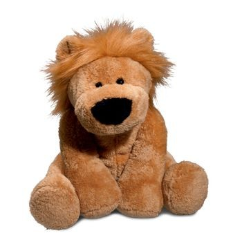 Picture of LARGE LION in Brown