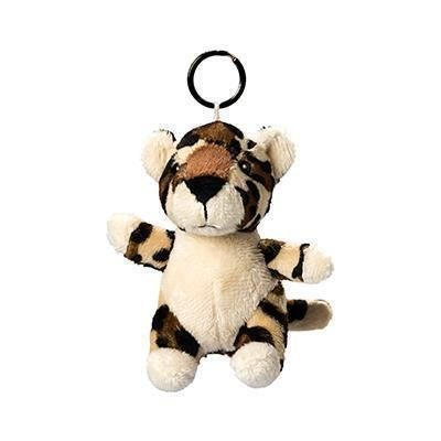 Picture of LEOPARD PLUSH KEYRING