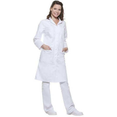 Picture of BASIC LADIES WORK COAT in White