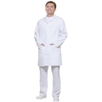 BASIC MENS WORK COAT in White
